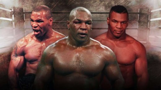 Mike Tyson Roy Jones Jr California