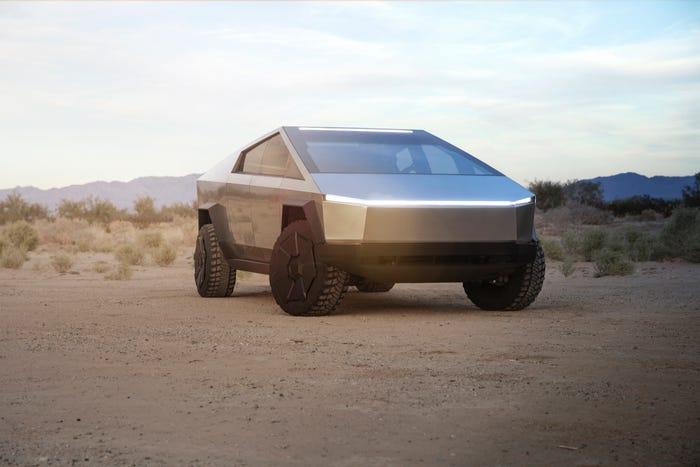 Tesla Cybertruck. Tesla