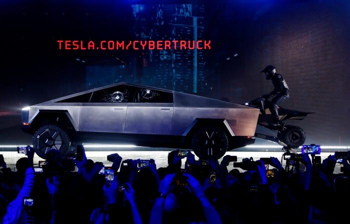 Tesla Cybertruck Reuters