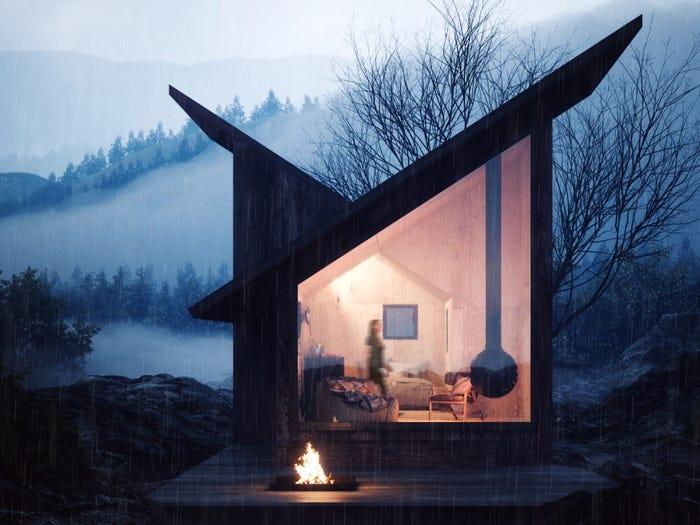 Mountain Refuge. Massimo Gnocchi