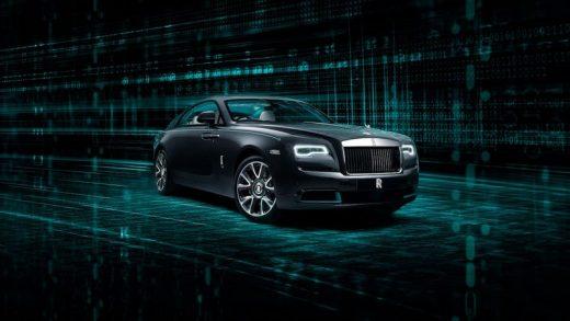 Rolls-Royce Wraith Kryptos Collection. Rolls-Royce