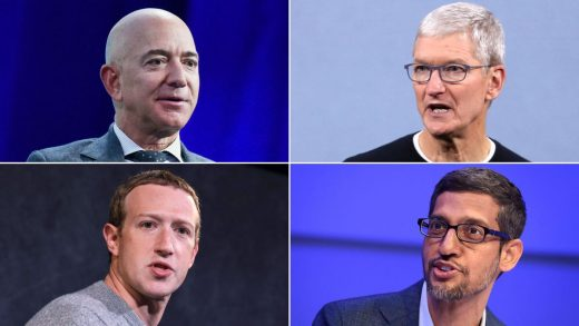 bezos, zuckerberg, cook and pichai prepare for their big day before congress — here's what to watch out for