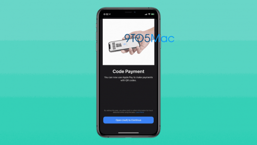 OS 14 might let you scan QR codes to use Apple Pay