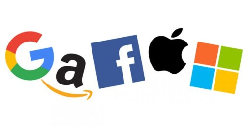 Google Amazon Apple Microsoft Facebook