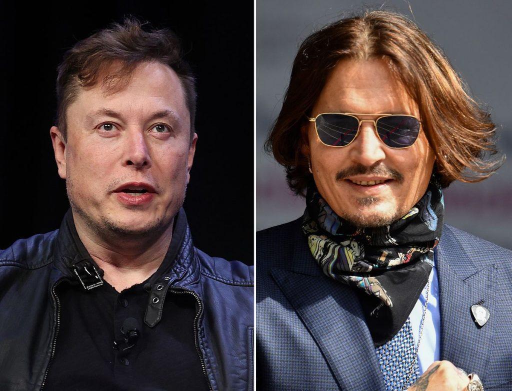 Elon Musk Johnny Depp