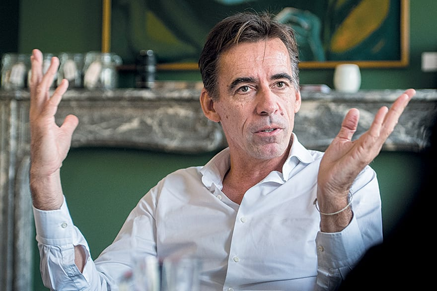 CEO of the World Federation of Advertisers (WFA) Stephan Loerke.