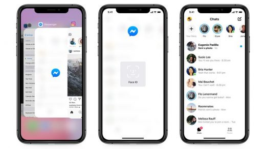 Facebook Messenger can now lock your chats behind Face ID
