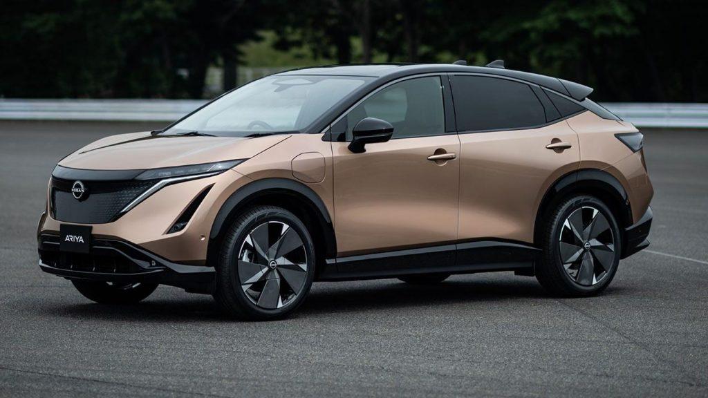 Electric Nissan Ariya
