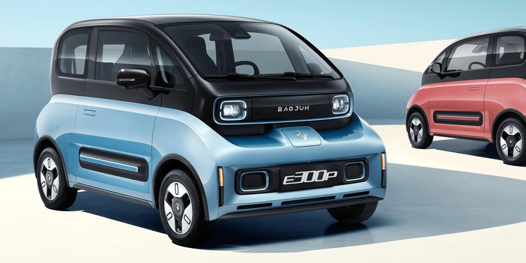 Baojun sells electric cars in China for under $10,000