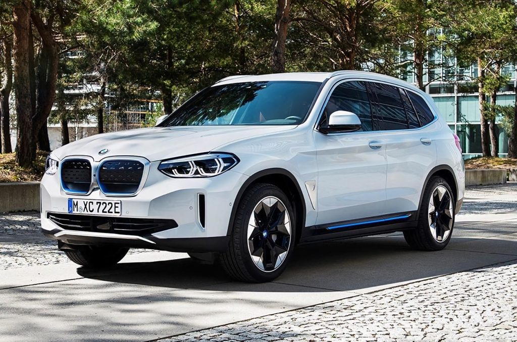 BMW iX3 electric European China