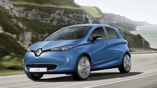 Renault electric cars Germany