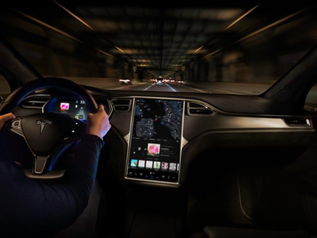 Tesla's Model X. TESLA.