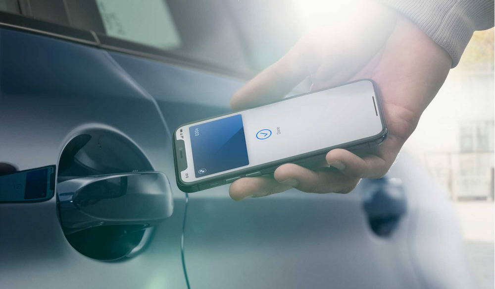 "BMW on Thursday added Digital Key support to its BMW Connected app, a little over a week after Apple announced a digital car key feature set to debut with iOS 13.6.  The digital car keys feature will allow users to store ""digital keys"" within the Wallet app, allowing them to lock, unlock or start their vehicles with an iPhone or Apple Watch.  BMW was announced as the first adopter of the vehicular technology, and the automaker has updated its BMW Connected app to support the feature with what it calls BMW Digital Key.  ""The BMW Digital Key for the iPhone will enable you to lock and unlock your car by holding iPhone up to the door handle and start it up by placing iPhone in the smartphone tray,"" BMW said of the update.  Digital Key users will also be able to share access with up to five of their friends or family members. The setup process is carried out within the BMW Connected app, while actual Digital Keys are stored in Wallet.  The feature will be available on the iPhone XR and iPhone XS and newer, as well as the  While BMW has updated their app to support digital keys, Apple will introduce compatibility with the feature in the forthcoming iOS 13.6 and watchOS 6.2.8. The feature will also be present in iOS 14 and watchOS 7.  As the carmaker said on June 22, the BMW Digital Key feature will also be compatible with the following vehicle models:  The 1 The 2 The 3 The 4 The 5 The 6 The 8 The X5 The X6 The X7 The X5M The X6M The Z4"