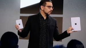 Microsoft's Panos Panay. Photo by Dan Seifert / The Verge