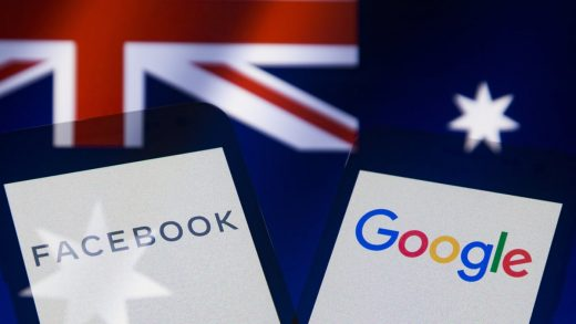 Australia Google Facebook