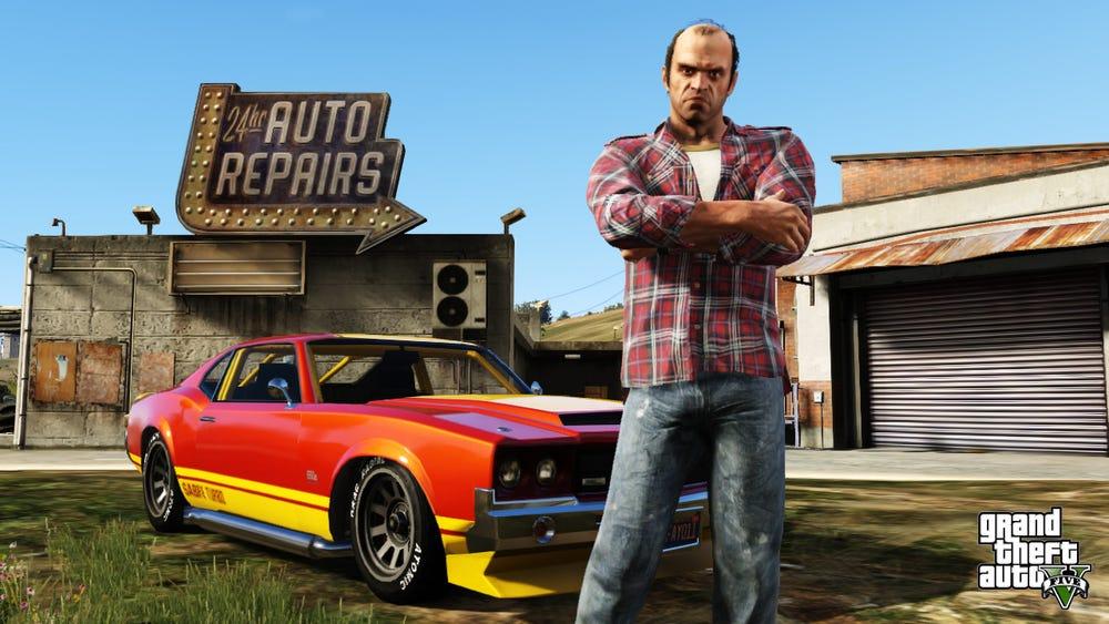 """""""Grand Theft Auto V""""/Rockstar Games"""