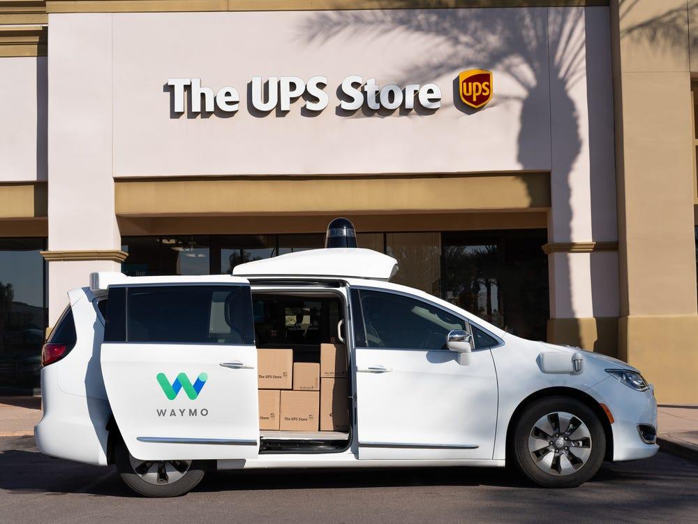 "Meanwhile, Waymo's ""Waymo One"" ride-hailing service has been active in Arizona since late 2018. Waymo"