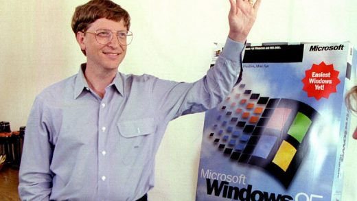 Windows 95 Bill Gates
