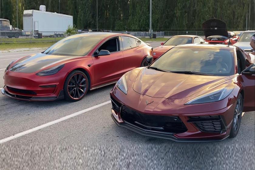C8 Corvette Vs. Tesla Model 3