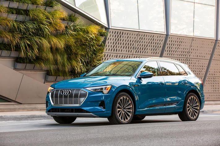 Audi e-tron SUV. CREDIT: AUDI