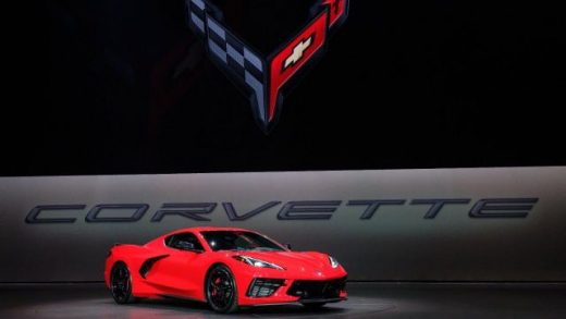 Executive Chief Engineer Tadge Juechter introduces the 2020 Chevrolet Corvette Stingray in July 2019.