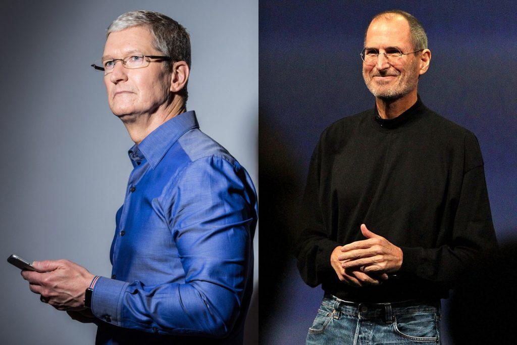 Steve Jobs Tim Cook