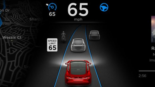 Tesla Autopilot now detects speed limit signs