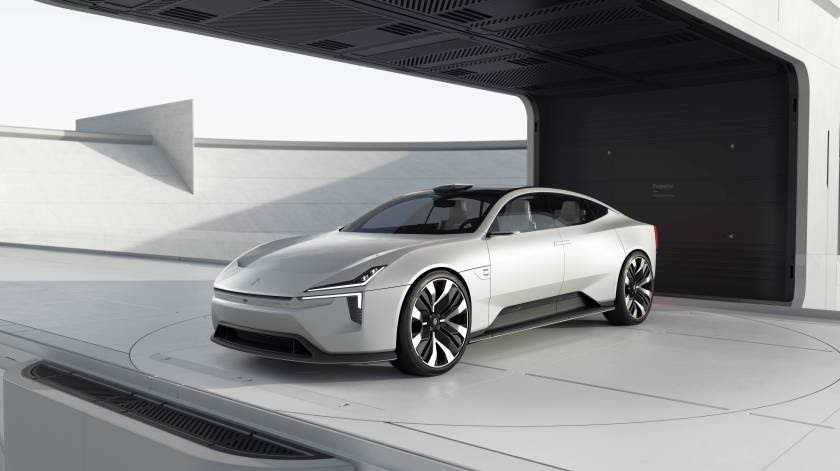 The Polestar Precept concept car telegraphs the company's design direction.(Polestar)