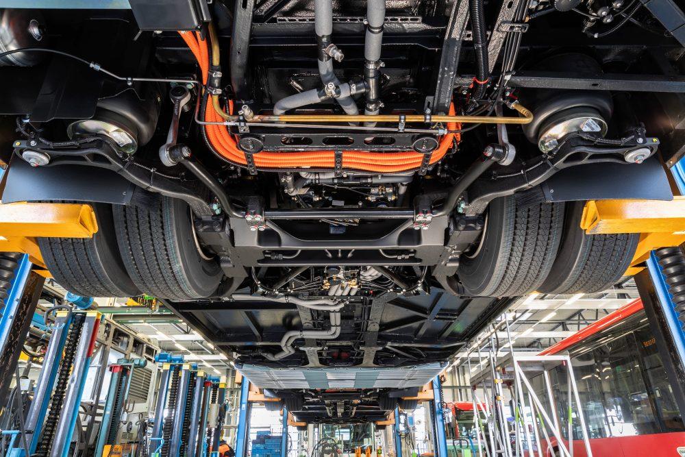 Daimler electric bus