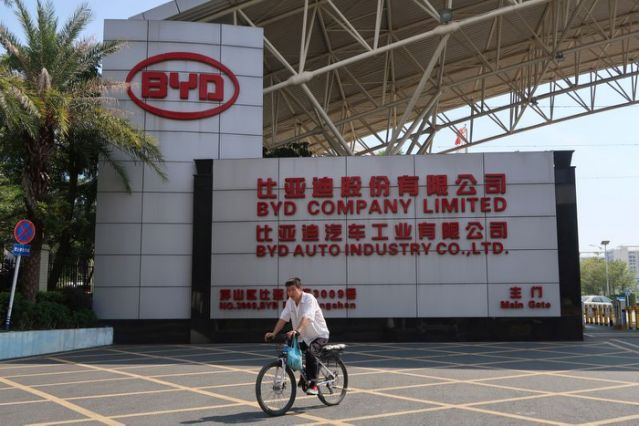 China's Didi, BYD to launch co-designed ride-hailing Electric Vehicle