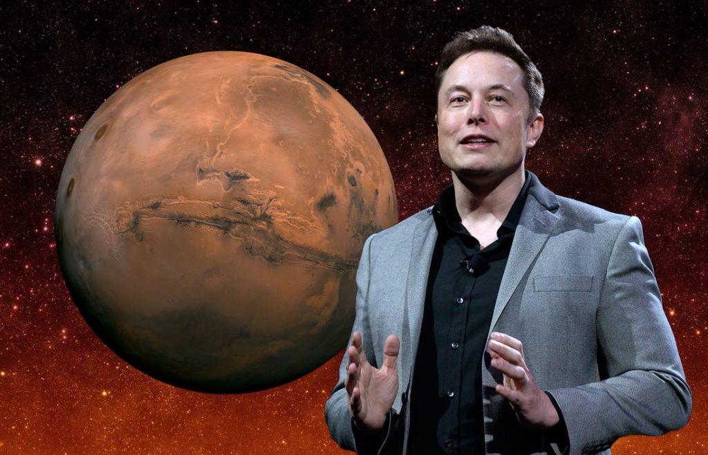 Elon Musk Mars