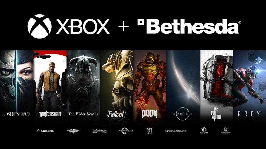 Microsoft buys Bethesda, the company that makes hit games Fallout, The Elder Scrolls, for $7.5 billion