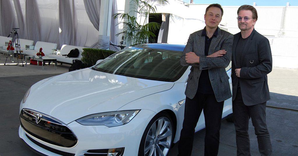 Elon Musk Bono U2