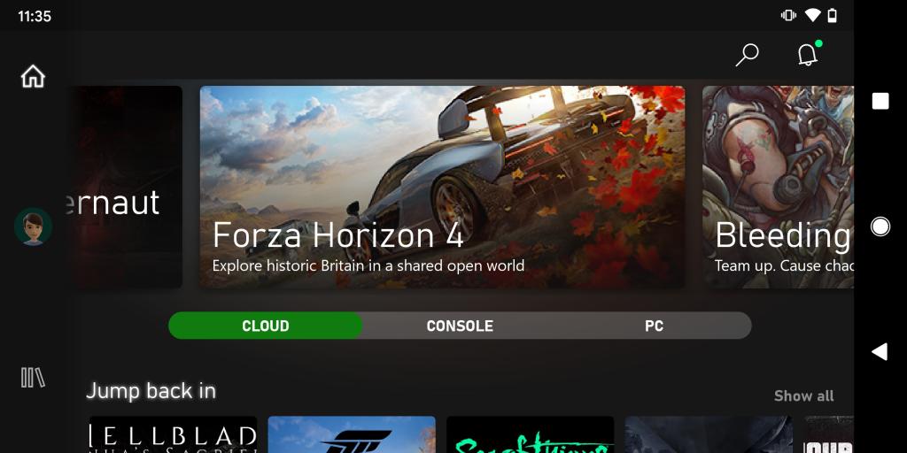 Microsoft xCloud Xbox