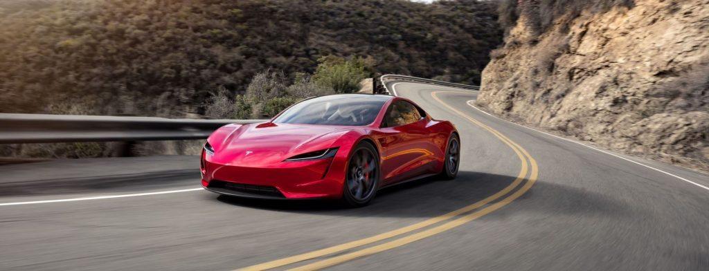 Tesla Roadster. Credit: Tesla