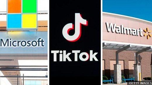 TikTok Walmart Microsoft Oracle