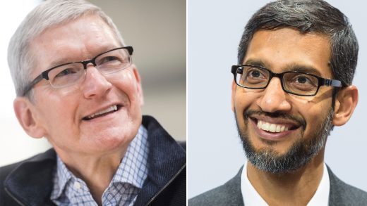 Google Sundar Pichai Apple Tim Cook