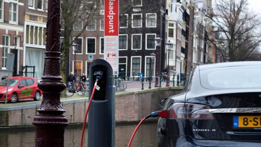 Netherlands has 60,000 charging stations for electric cars