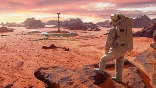 SpaceX Elon Musk Mars