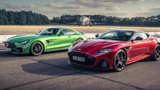 Mercedes-Benz Aston Martin electric cars