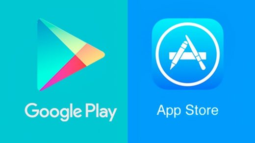 Apple Stores Google Play