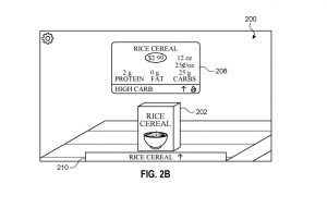 """Apple Glass"" could display pop-up details about one product, or a comparison between two"