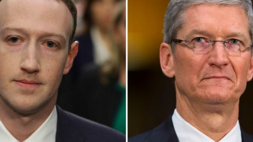 CEO Facebook Mark Zuckerberg CEO Apple Tim Cook