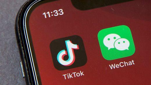 WeChat China U.S USA TikTok