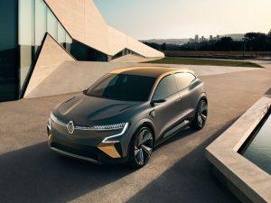 The Renault Megane eVisionPhotographer: CG Watkins/Renault SA
