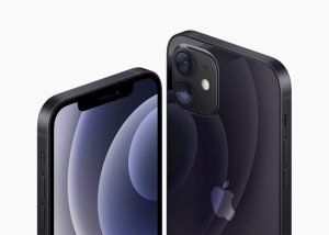 Apple's iPhone 12 and iPhone 12 are seen in an illustration released in Cupertino, California, U.S. October 13, 2020. Apple Inc./Handout via REUTERS