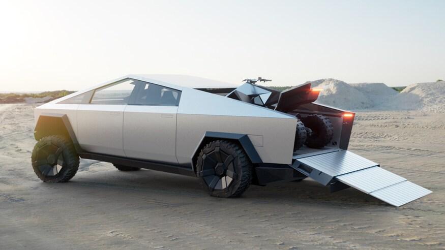 Tesla Supercharger Cybertruck