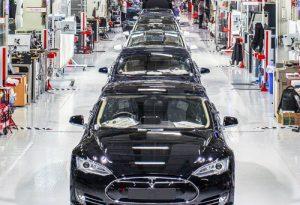 Tesla electric cars