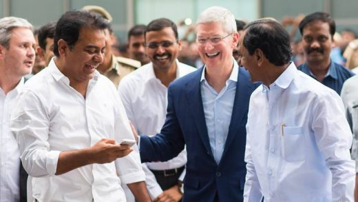 Apple CEO Tim Cook India