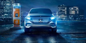 Mercedes-Benz electric cars